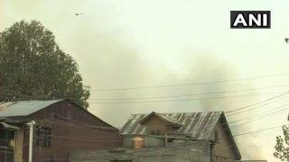 J&K: Three Terrorists Killed in Encounter in Srinagar's Fateh Kadal, One Police Personnel Martyred