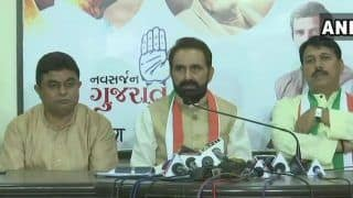 Migrant Exodus From Gujarat: Congress Leader Shaktisinh Gohil to File Criminal, Defamation Case Against CM Rupani For Insinuating he Was Responsible For Violence
