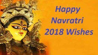 Navratri 2018 Wishes in English, Hindi: Latest Navratri Messages, Quotes, WhatsApp & Facebook Status to Wish Happy Navratri Greetings
