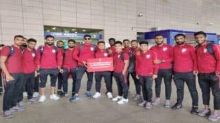 Indian Football Team Lands in China For Historic International Friendly