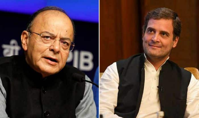 Jaitley Slams Congress After Rahul Gandhi's 'Middleman' Charge Against PM Modi, Asks 'How Many Lies to Save Sinking Dynasty'