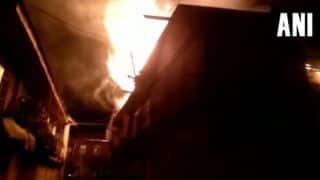 Jammu And Kashmir: Major Fire Breaks Out in Municipal Committee Building in Shopian District