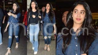 Janhvi Kapoor's Latest Airport Pictures Will Make You Drool Over Her Simplicty, Actress Walks Out With Sister Khushi Kapoor