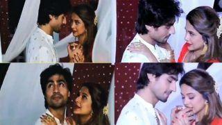 Bepannaah Actors Jennifer Winget–Harshad Chopda Show Steamy Romance on Chaand Chupa Badal Main For Karwa Chauth Episode, Watch