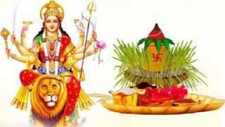 Shardiya Navratri 2019: कलश स्थापना से जुड़े इन 7 नियमों का पालन जरूरी...