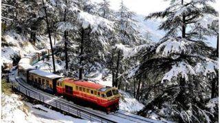 शिमला-कालका रेल मार्ग पर बढ़ेगी ट्रेन की गति, घुमावदार रास्ते पर होगा नई तकनीक का प्रयोग