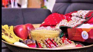 Karwa Chauth 2020: करवा चौथ में बेहद खास होती है सरगी, जानें अपनी थाली को आप कैसे बनाएं हेल्दी और स्वादिष्ट