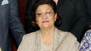 Raj Kapoor's Wife Krishna Raj Kapoor Passes Away at The Age of 87 Due to Cardiac Arrest