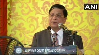Dipak Misra's Farewell: No Rhetorics Would be The Title if I Choose to Write Autobiography, Says Dipak Misra