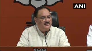 'CAA, NRC Will be Implemented Across Country,' Says JP Nadda After Meeting Afghan Refugees