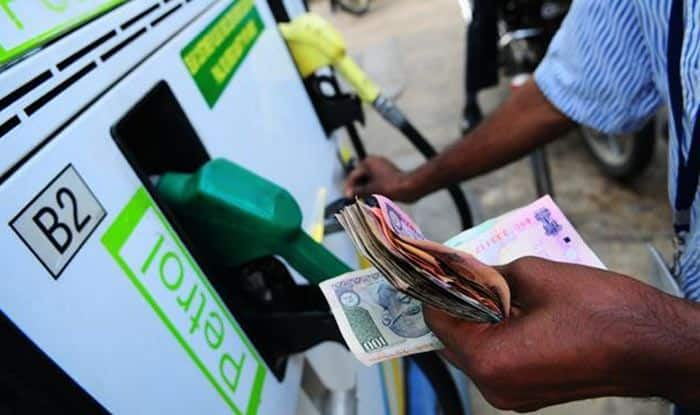 In 3 days, fuel prices come down by 87 paise