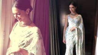 Deepika Padukone Redefines The Term Classy as She Steps Out in a Sabyasachi Saree, See Pictures
