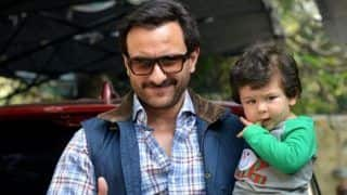 Saif Ali Khan And His Son Taimur Ali Khan Are Perfect Gym Buddies, This Picture is Proof