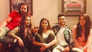 Haryanvi Bombshell Sapna Choudhary Bonds With The Team of Dosti Ke Side Effects, See Pic
