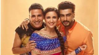 Arjun Kapoor Shares Picture With Namastey London Starrer Akshay Kumar And Namstey England Co-Star Parineeti Chopra; See Picture