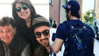Neetu Kapoor Shares an Image of Ranbir Kapoor on Instagram And Calls Him Her Strength; See Picture