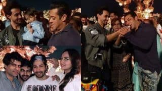 Aayush Sharma's Birthday Bash: Salman Khan, Varun Dhawan, Kartik Aaryan And Others Party Hard, See Pics
