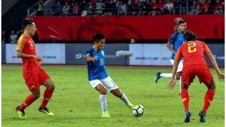 भारतीय डिफेंस को नहीं भेद सका चीन का आक्रमण, ड्रॉ रहा फ्रेंडली फुटबॉल मैच