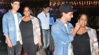 Aayush Sharma Pulls Wife Arpita Khan's Cheek at The Screening of Loveratri; Arpita Gives a Shocking Reaction - Watch Video