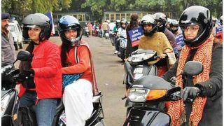 दिल्ली की तरह चंडीगढ़ में सभी सिख महिलाओं को हेलमेट पहनने से मिली छूट