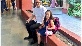 केंद्रीय मंत्री किरण रिजिजू की बिटिया ने दिया बॉस को मनाने का क्यूट आइडिया तोे पहुंचे बेटी के स्कूल