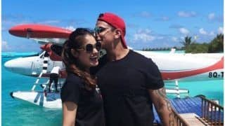 Prince Narula - Yuvika Chaudhary Honeymoon Pictures: The Newly Married Couple is Having Fun in Maldives