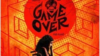 Taapsee Pannu Unveils Poster of Her Upcoming Tamil-Telugu Bilingual Film Titled Game Over; See Poster