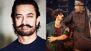Thugs of Hindostan: Aamir Khan Says he Had a Ball Dancing With Amitabh Bachchan in The Song Vashmalle