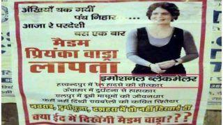 सोनिया गांधी के संसदीय क्षेत्र रायबरेली में 'इमोशनल ब्लैकमेलर' और 'प्रियंका गांधी लापता' के लगे पोस्टर