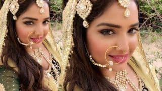 Bhojpuri Bombshell Amrapali Dubey Looks Like a Queen in Her Latest Instagram Post; See Picture