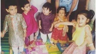 Taimur Ali Khan Celebrates Dussehra With His Cousin Inaaya Naumi Kemmu, Tushar Kapoor's Son Laksshya Kapoor And Others - See Pictures
