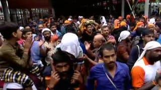 Sabarimala: Security in Place, Only One Woman of 'Banned Group' Attempts Trek, Retreats Following Protests
