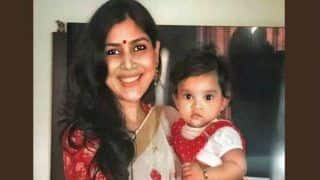 Dangal Actress And Kahaani Ghar Ghar Kii Fame Sakshi Tanwar Adopts a 9-Month-Old Baby Girl This Navratri, See Pictures