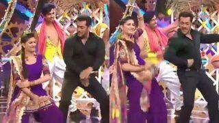 Video: हरियाणवी गाने पर सपना चौधरी-सलमान खान का गरदा डांस, वायरल हो रहा है वीडियो
