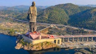 Statue of Unity Ahead of Statue of Liberty: 15,000 Tourists Visit Gujarat Monument Daily