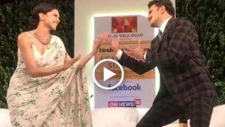 VIDEO: हर शख्स चौंक उठा जब रणवीर-दीपिका ने अचानक किया 'खलीबली डांस'!!