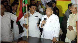 शिवपाल का ऐलान, पार्टी की ओर से मुलायम होंगे PM पद के उम्मीदवार, हमें 40 दलों का समर्थन