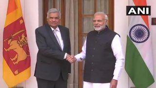 पीएम नरेंद्र मोदी और श्रीलंका के प्रधानमंत्री रनिल विक्रमसिंघे के बीच हुई मुलाकात, इन बातों पर हुई चर्चा