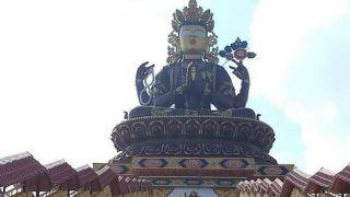 सिक्किम में चेनरेजिग की 137 फुट ऊंची प्रतिमा तैयार, एक नवंबर से पर्यटकों का स्वागत