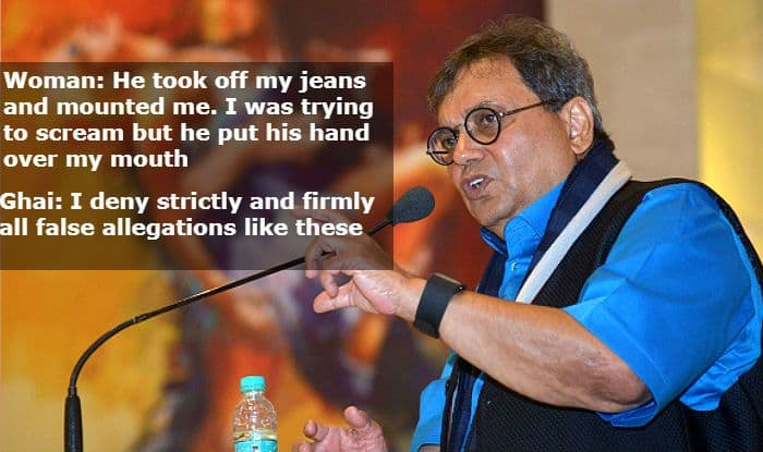 #MeToo: Subhash Ghai Denies Allegations of Sexual Harassment by Woman Who Claims he Raped And Drugged Her