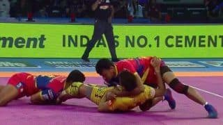 Telugu Titans Defeat UP Yoddha 34-29 in a Thrilling Encounter at Pro Kabaddi League-6