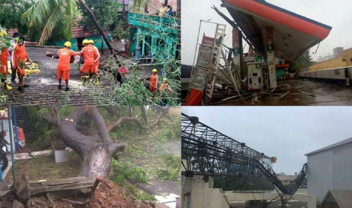 Cyclone Titli weakens, leaves 9 dead in Andhra Pradesh and Odisha