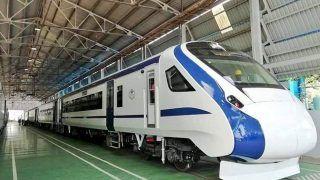 पटरी पर उतरी देश की पहली इंजन रहित ट्रेन, परीक्षणों के बाद शताब्दी एक्सप्रेस की जगह लेगी 'ट्रेन 18'