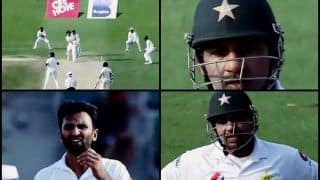 Pakistan vs New Zealand 1st Test Dubai: Sarfraz Ahmed Bashes Bilal Asif From Behind The Stumps For Giving Away Easy Runs | WATCH
