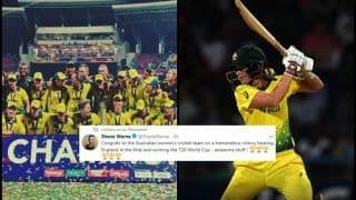 Australia vs England ICC Women's World T20: Mitchell Johnson to Shane Warne, How Twitter Praised Southern Stars After They Beat England to Clinch Record Fourth Title