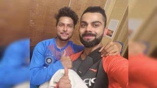 India vs Australia 3rd T20I SCG: Virat Kohli Posts Heartwarming Tweet With Kuldeep Yadav After India Beat Australia by Six Wickets   SEE PIC