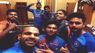India vs Australia 3rd T20I at SCG: Shikhar Dhawan, Kuldeep Yadav, Ravi Shastri Thank Fans For Support After Leveling Series 1-1