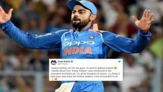 Indian Skipper Virat Kohli's First Reaction After Controversial 'Leave India' Remark