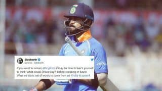 What an Idiotic Set of Words: Actor Siddharth Blasts India Captain Virat Kohli Over Leave India Comment to Fan