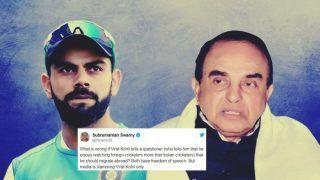 Bharatiya Janata Party's Subramanian Swamy Bats For Virat Kohli In 'Leave India' Controversy